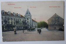 29651 AK Eydtkuhnen welters HOTEL, ALBERGO Russie U Deutsches casa Prussia orientale 1908