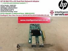 HP 10 GbE PCI-e G2 Dual-Port Network Adaptor   * 516937-B21 *