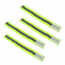 4xRunning Cycle Reflective Hand Wrist Band Exercise Visbile Arm Safety Strap