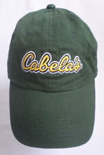Cabela's Hat Cap Forest Green Cotton Outfitters Outdoors Hiking Fishing One Size