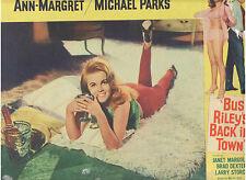 BUS RILEY'S BACK IN TOWN ANN MARGRET SEXY VINTAGE ORIGINAL U.S. LOBBY CARD #2