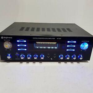Skytronic AV-340 Hi-Fi Stereo USB MP3 FM Karaoke Amplifier