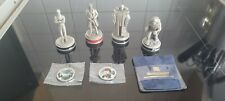 More details for 4 danbury doctor who chess pieces the master 8th doctor terileptil sharez jek