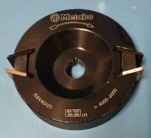Metabo Magnum Universal-Fräskopf 31329 für Tischkreissäge Tk 1685/Tk 1688