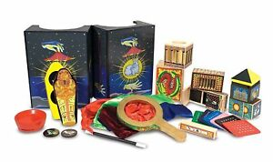 Deluxe Gift Magic Set Ideal for Young Magician Kids Toy Melissa & Doug 11170