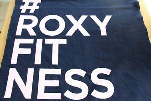 Roxy Fitness Navy Towel