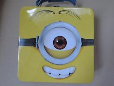 Despicable Me 2 Collectible Minion Tin Metal Lunch Box -Limited Edition- New