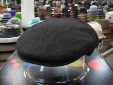 PANIZZA CHARCOAL GREY  FELT IVY CAP