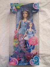 Barbie Fairytopia Mermaidia Nori Doll..New In The Box!!!