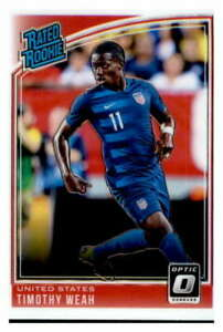 2018-19 Donruss Optic Soccer Base Singles #1-200 (Pick Your Cards)