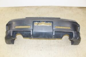 99-03 Jdm Honda S2000 Ap1 Aftermarket Fiberglass Rear Bumper Black S2k F20c