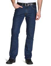 Mens Lee Jeans Original Brooklyn Straight Zip Fly Denim Trousers Stonewash 36