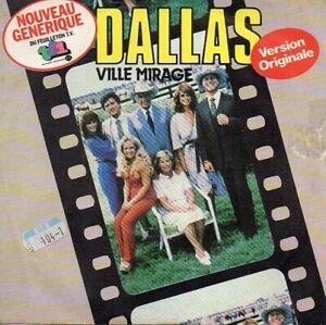 vinyles 45 tours générique série TV Dallas