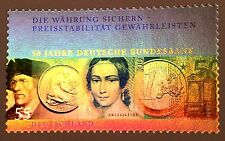 Rare Hologram/Holographic/3D Stamp Germany 2007 Clara Schumann Banknotes Coins