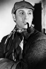 Basil Rathbone Stunning With Pipe As Sherlock Holmes 11x17 Mini Poster