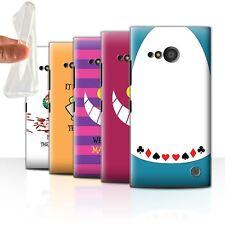 STUFF4 Gel/TPU Case/Cover for Nokia Lumia 735/Fantasy Wonderland Art