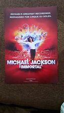 MICHAEL JACKSON, IMMORTAL; COLOR 2 SIDED PR POSTER