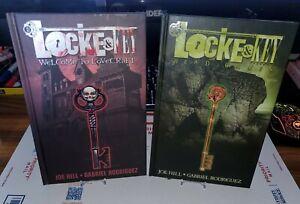 LOCKE & KEY HC VOL 1 WELCOME TO LOVECRAFT VOL 2 HEAD GAMES NETFLIX IDW COMICS NM