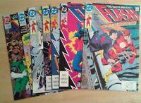 The Flash Vol.2 Lot of 7 comics DC VF/NM
