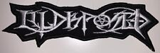 ILLDISPOSED - Cut Out Logo - 15,6 cm x 5,2 cm - Patch - 165545