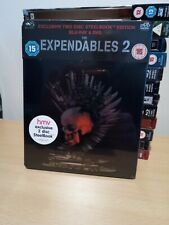 The Expendables 2 BLU RAY STEELBOOK UK Release NEW & SEALED