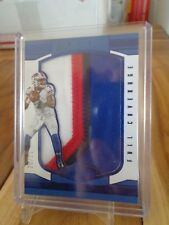 2016 PANINI PLATES & PATCHES CARDALE JONES 4 COLOR JERSEY /25 BILLS !