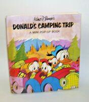 1977 Walt Disney's Mini Pop-Up Book  Donald's Camping Trip