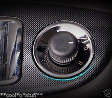 126- CZR Cruze Chevrolet Chrome Trim Side Mirror Button Round Surface Base 1 Pc