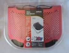 Kraun KT.ST - Mini Net-Stand Rosso in alluminio con ventola BASE  per Notebook