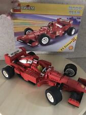 LEGO System Racing - Rare Model Team F1 Ferrari 2556 -Used once