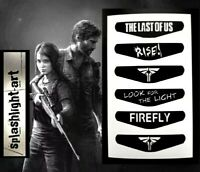 THE LAST OF US PS4 Controller Light Bar 6x Vinyl Sticker Decal PlayStation