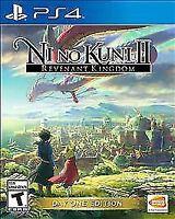 Ni no Kuni II Revenant Kingdom Day One Edition (Sony PlayStation 4, 2018) PS4