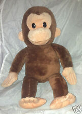 """Applause 17"""" Curious George Plush Stuffed Toy Animal Excellent Condition"""