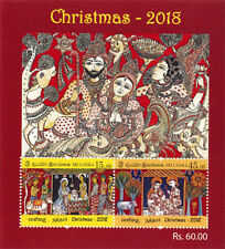 Sri Lanka stamps CHRISTMAS - 2018  Stamp Souvenir sheet - FREE SHIPPING