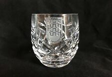Waterford Crystal 1988 Dublin Celebrating A Thousand Years 3 1/2 Tall Tumbler
