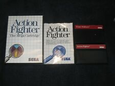 Time Soldiers & Action Fighter CIB for Sega Master.Authentic.US Version.Cleaned!