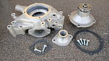 BBM MOPAR/DODGE HIGH PERFORMANCE ALUMINUM WATER PUMP+HOUSING +INLET COMPLETE SET