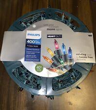 Philips Heavy Duty Clear 7 Color Multi Mini Lights 400 Bulbs NEW