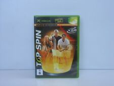 TOP SPIN XBOX Brand New and Sealed ,100% PAL Game ( AUS )