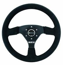 Sparco 015R323PSNR Competition Steering Wheel 323 Black Suede