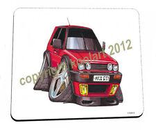 Koolart-Rojo Mk 2 Vw Golf-Calidad Mouse Mat / Pad