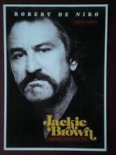 POSTCARD L3 L3-3 FILM POSTER 'JACKIE BROWN' ROBERT DE NIRO