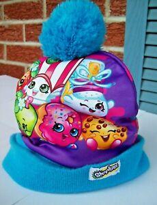 Poppy Corn Shopkins Movies Knit Winter Warm HAT Beanie Girl's One Size  Age 5-7
