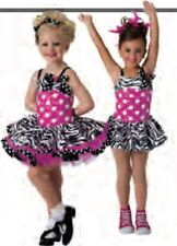 Costume Gallery Girl Size Small Hot Pink 2 In 1 Style # 15116C NWT