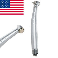 Dental Dentist Fast High Speed Handpieces Fiber Optic LED Handpiece 3w 4H 【USA】