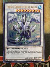 Yugioh Trishula, Dragon of The Ice Barrier DUSA-EN081 Ultra Rare 1st Edition
