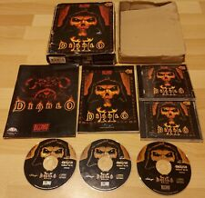 Diablo II (2) PC Big Box Game - Complete - Windows