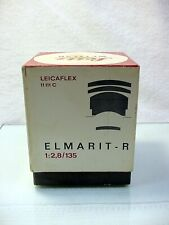 BOX FOR Leicaflex Elmarit-R f2.8/135 11111 | For Lens in Bubble | $35 |