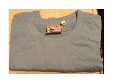 vendo T-shirt di cotone di ottima qualità a maniche corte celeste taglia XXL