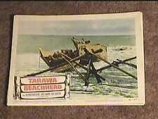 TARAWA BEACHHEAD 1958 LOBBY CARD #5 WAR MILITARY
